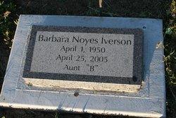 Barbara <I>Noyes</I> Iverson