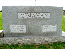 Doris G. <I>Rose</I> McMahan