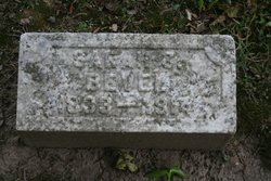 Sarah Katherine <I>Miller</I> Bevel