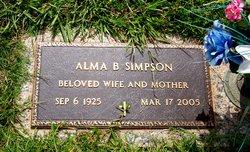 Alma Faye <I>Baucom</I> Simpson