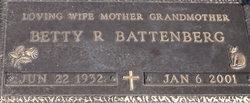 Betty R. <I>Edwards</I> Battenberg