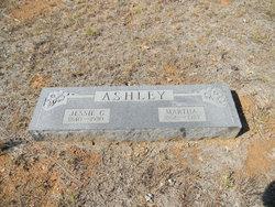 Martha A <I>Suggs</I> Ashley
