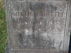 Mittie B Little