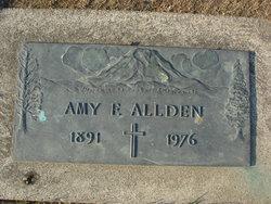 Amy F Allden