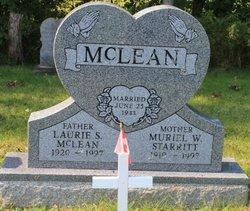Muriel W. <I>Starritt</I> McLean