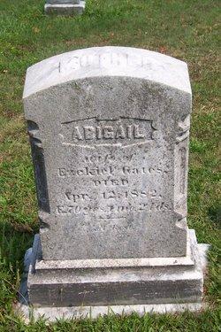 Abigail <I>Mosman</I> Gates