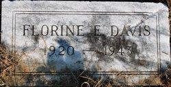 Florine E. <I>Campbell</I> Davis