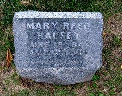 Mary <I>Reed</I> Halsey