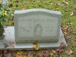 Dorothy Jean <I>Maples</I> Huskey