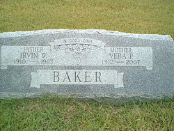 Vera Pauline <I>Worth</I> Baker
