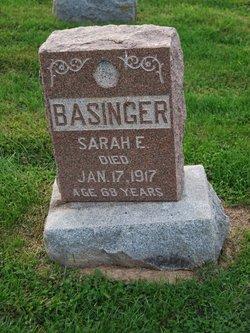 Sarah Elizabeth <I>Wolf</I> Basinger
