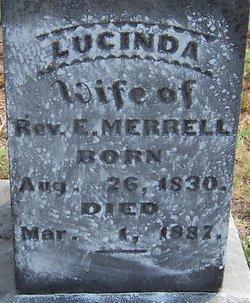 Lucinda Elizabeth <I>Cook</I> Merrell