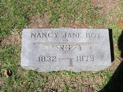 Nancy Jane <I>Wright</I> Hoy