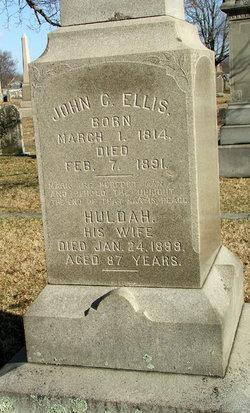 Huldah <I>Ellis</I> Ellis