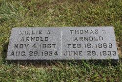 Millie Ann <I>Ragsdale</I> Arnold