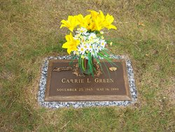 Carrie Lynn <I>Reed Mills</I> Green