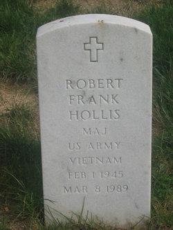 Maj Robert Frank Hollis
