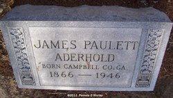 James Paulett Aderhold