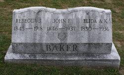 Rebecca Jane <I>Kissinger</I> Baker