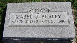 Mabel Jane <I>Hudnall</I> Braley