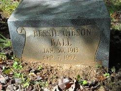 Bessie Mae <I>Gibson</I> Ball