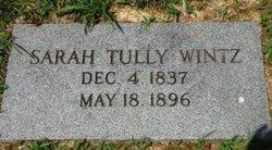 Sarah Ann <I>Tully</I> Wintz