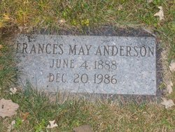 Frances May Anderson