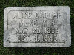 """Magdaline Alice """"Alice"""" <I>Carter</I> McKeever"""