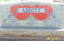 Lahoma Jennie <I>Hy Peterman</I> Abbott