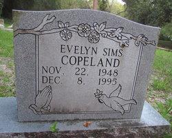 Evelyn <I>Sims</I> Copeland