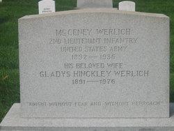 Gladys <I>Hinclkey</I> Werlich