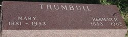Mary Marie <I>Lindekugel</I> Trumbull