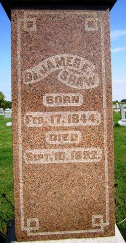 Dr James E. Shaw