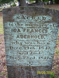 Ida Frances Aderhold