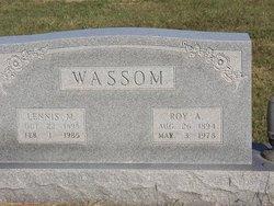 Lennis M Wassom