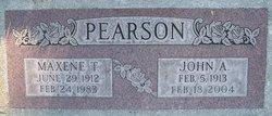 Maxene <I>Thayne</I> Pearson
