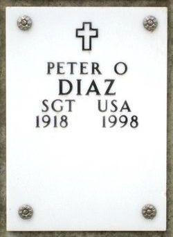 Peter O Diaz