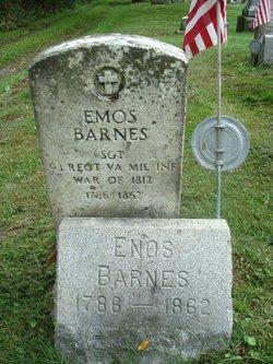 Sgt Enos Barnes