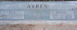 Fannie Thelmer <I>Reynolds</I> Ayres
