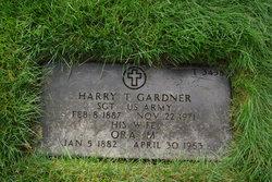 Harry T Gardner