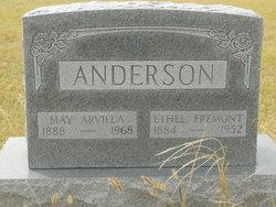 May Arvilla <I>Guilford</I> Anderson