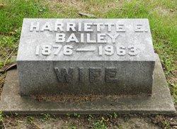 Harriette E <I>Cunningham</I> Bailey