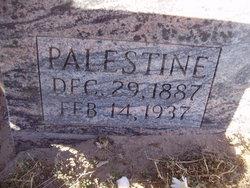 Palestine <I>Hefner</I> Bates
