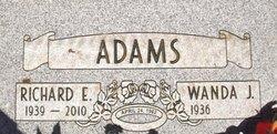 "Richard E ""Rich"" Adams"