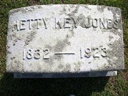 """Mahitable """"Hetty"""" <I>Key</I> Jones"""