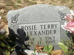 Rosie <I>Terry</I> Alexander