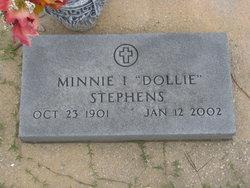 "Minnie Irene ""Dollie"" <I>Boughton</I> Stephens"