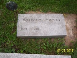 Dorothy <I>Dempster</I> Johnson