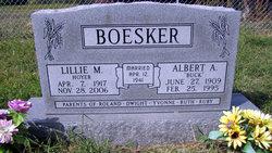 Lillie M. <I>Hoyer</I> Boesker