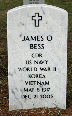 CDR James Ogden Bess
